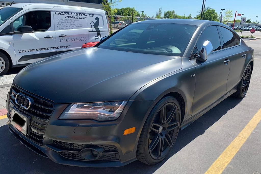 Audi A7 Ceramic coating