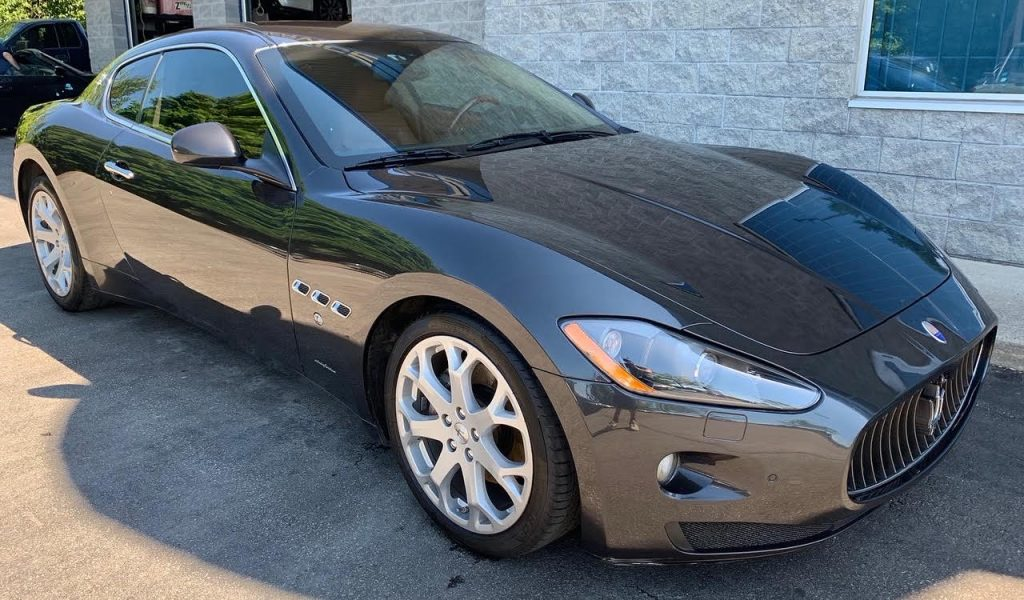 Ceramic coating maserati granturismo