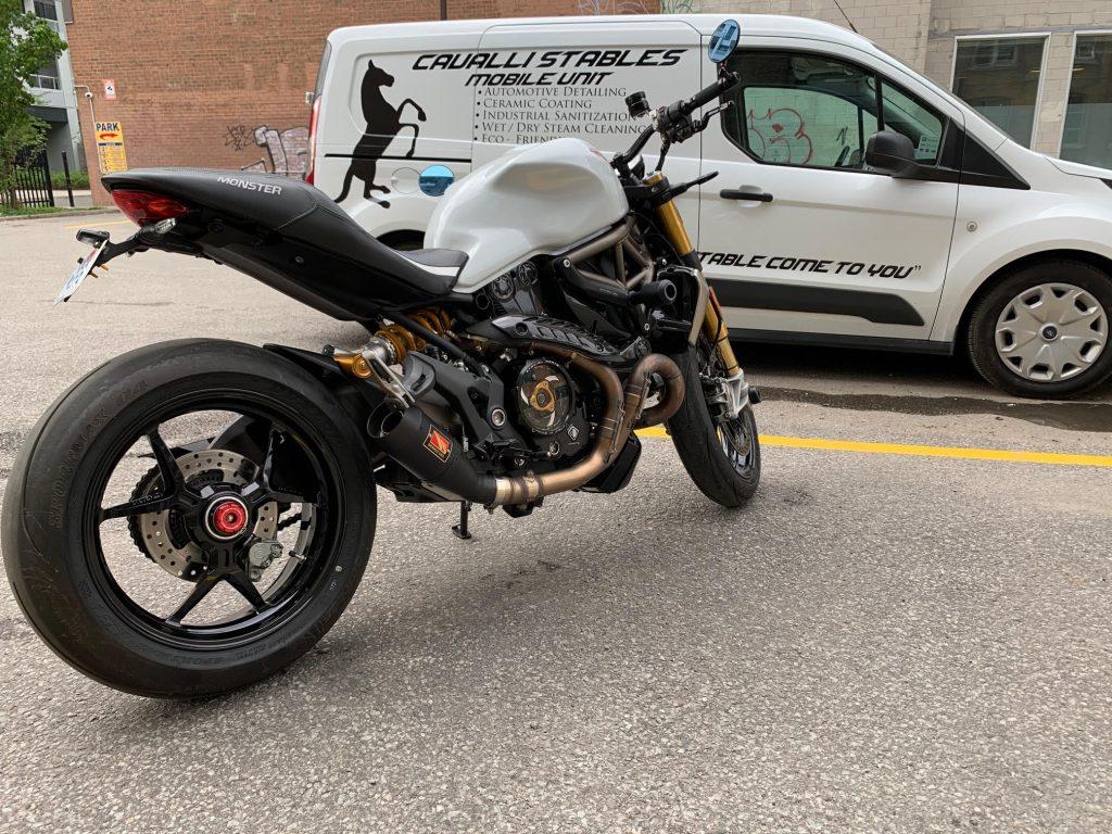 Motorcycle Ceramic coating